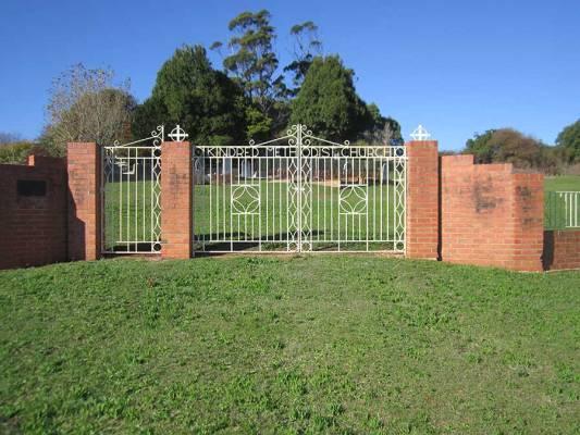 Kindred Methodist Church Gate